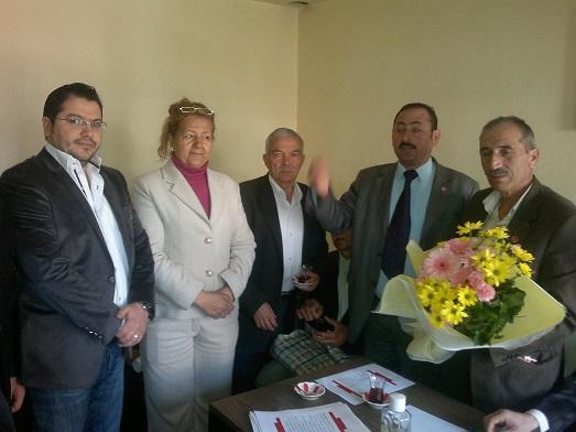 AK Parti'den muhtarlara ziyaret