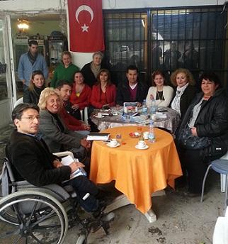Kent Konseyi'nden engellilere ziyaret