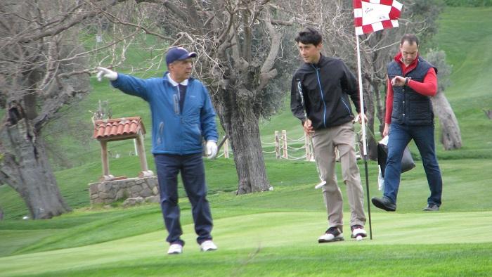 Tataristan Cumhurbaşkanı'nın Bodrum'da Golf keyfi