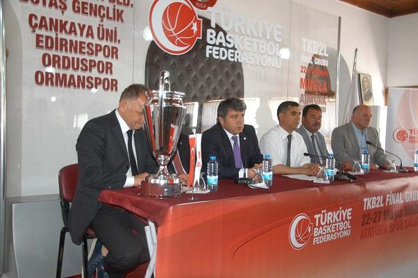 Bayanlar basketbol 1. Lige yükselme maçları Muğla'da başlıyor