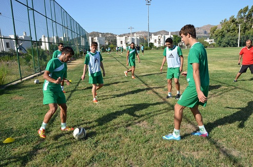 Bodrumspor Muğla maçına Hazır