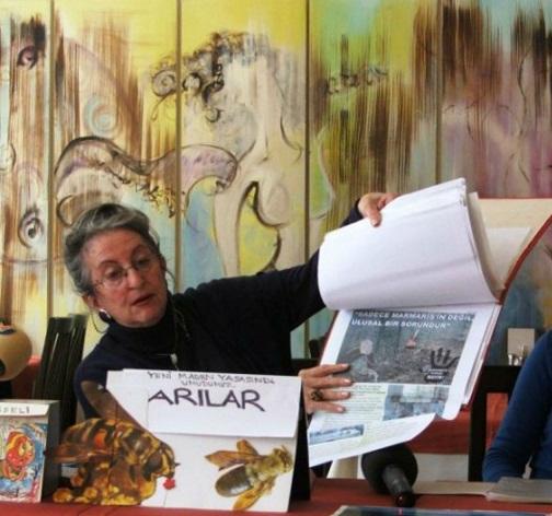 Marmaris'te madencilik faaliyeti iddiası
