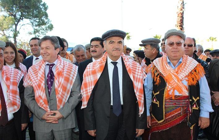 Harmandar'a Fethiye'de sıcak karşılama