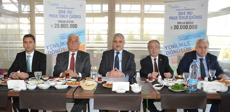GEKA'nın bütçesi 20 milyon TL