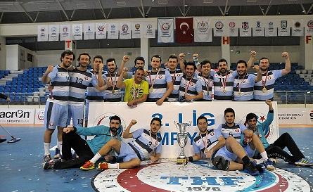 Belediye Hentbol Takımı 1. Lig'te