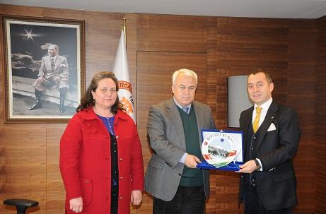 Macar Konsolos'tan MUTSO'ya ziyaret