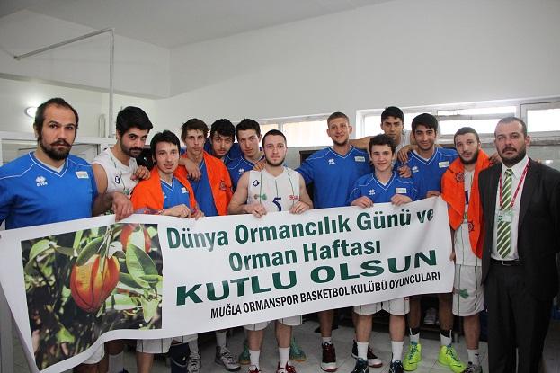 Basketçiler Galibiyeti Ormancılara hediye ettiler