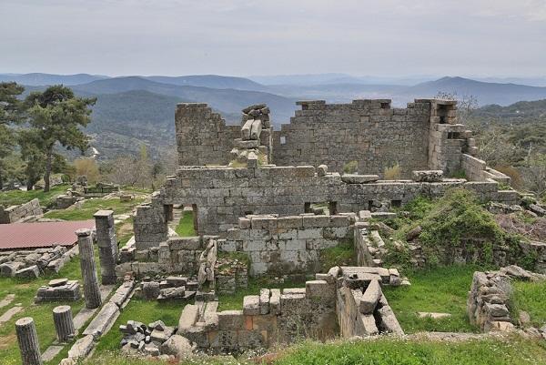 Antik Kentte çevre kirliliği
