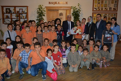 Öğrenciler Gürün'ü ziyaret etti
