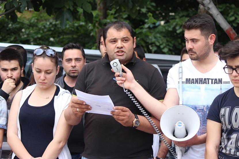 CHP Gençlik Kolları ölen işçileri andı