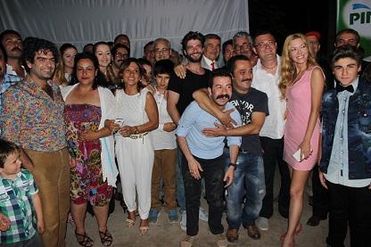 """""""Güzel Köylü"""" dizisinin galası yapıldı"""