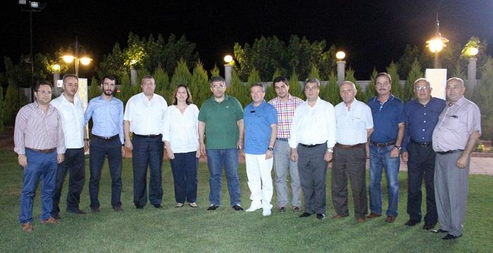 AK Parti başkanlar iftarda bir araya geldi
