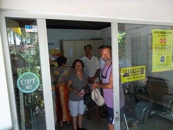 Akyaka PTT'de turizm yoğunluğu
