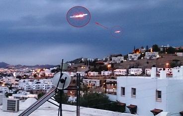 Bodrum'dan UFO ihbarı artıyor