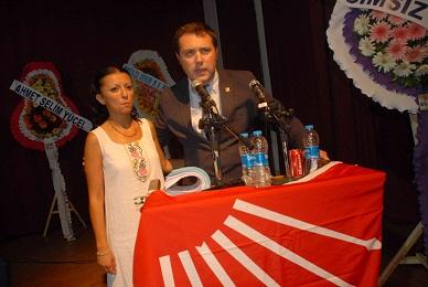 Özgür Kullukçu, Fethiye CHP İlçe Başkanı