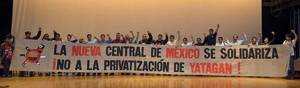 """Meksika'dan Yatağan'a duygulandıran destek """"16.599 Meksikalı işçi sizinle"""""""