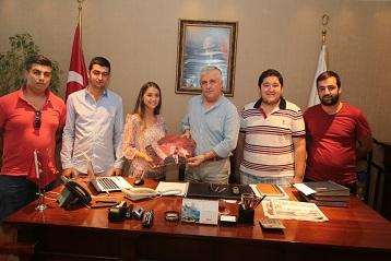 CHP'li gençlerden Kocadon'a teşekkür