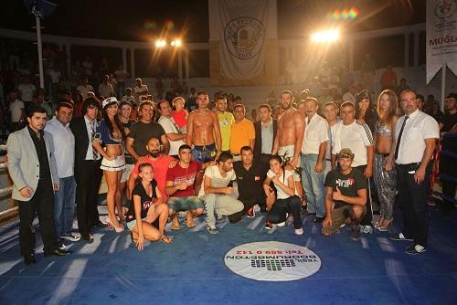 Türkiye Muay Thai Takımı şampiyon
