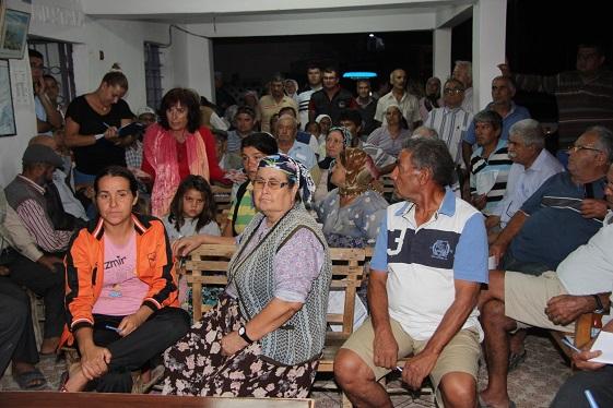 Halkla İlişkiler'in mahalle toplantıları sürüyor