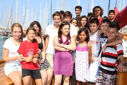 Okul Gemisi, Somalı çocukları ağırladı