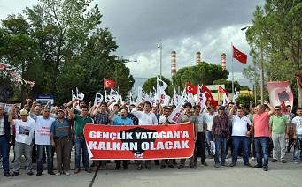TGB işçilerin yanında