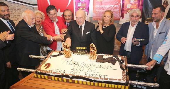 Türk Sinemasının 100. Yılı Bodrum'da kutlandı
