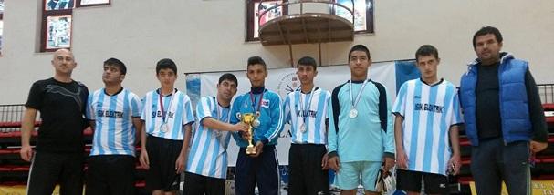 Engelliler Futsal'da Türkiye 2'incisi oldular