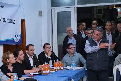 Belediye yetkilileri Gündoğan halkını dinledi