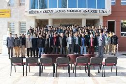 Ermaş'ta ilk karneler dağıtıldı