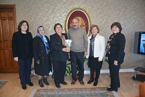 Türk Kadınlar Birliği'nden Saatcı'ya ziyaret
