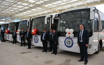Büyükşehir Otobüs Filosu güçlendi