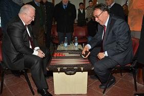 Menteşe Belediyesi Tavla Turnuvası başladı