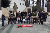 İç Güvenlik Paketi protesto edildi