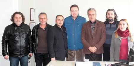 Büyükşehir Gazeteciler Cemiyeti'nde yeni yönetim