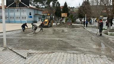 Çocuklar için basketbol sahası