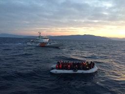 Kaçakları taşıyan tekne battı:5 ölü