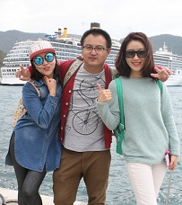 Marmaris'in ilk turistleri Çin'den
