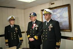 Donanma askerleri Çanakkale Karavanası yedi