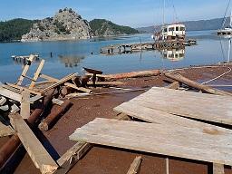 Marmaris'te sezon öncesi iskele krizi