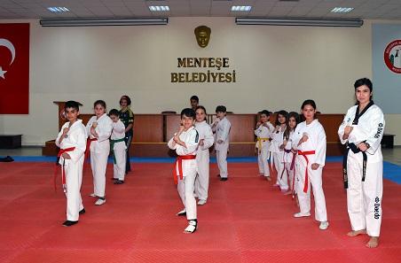 Menteşe Belediyespor Taekwondo Takımı kuruldu