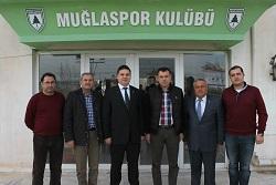 Soykan, Muğlaspor'u ziyaret etti
