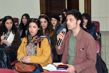 Yıldız Teknik Üniversitesi öğrencileri Menteşe'yi inceliyor