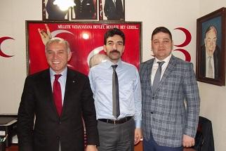 Aday adaylarından Yatağan MHP'ye ziyaret