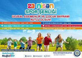 23 Nisan Spor Şenliği başlıyor