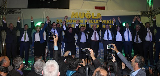 AK Parti gövde gösterisi yaptı