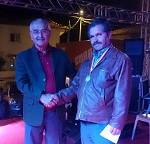 Festival Birincisine ödülü Demir verdi