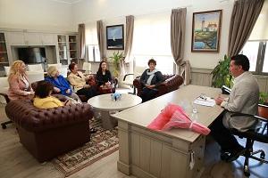 Hukukçu Kadınlardan Başkan Kocadon'a ziyaret