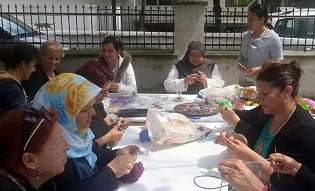 Köyceğiz'in el emekleri Ankara'da