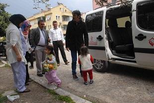 Sokakta kalan çocuklara devlet şefkati