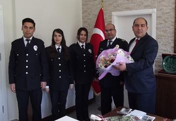Yatağan'da Polis Haftası kutlamaları başladı